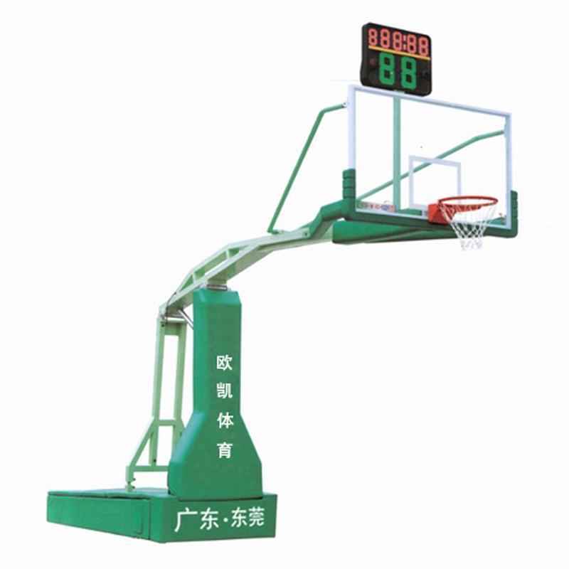 OK-002电动液压篮球架