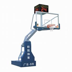 OK-001电动液压篮球架