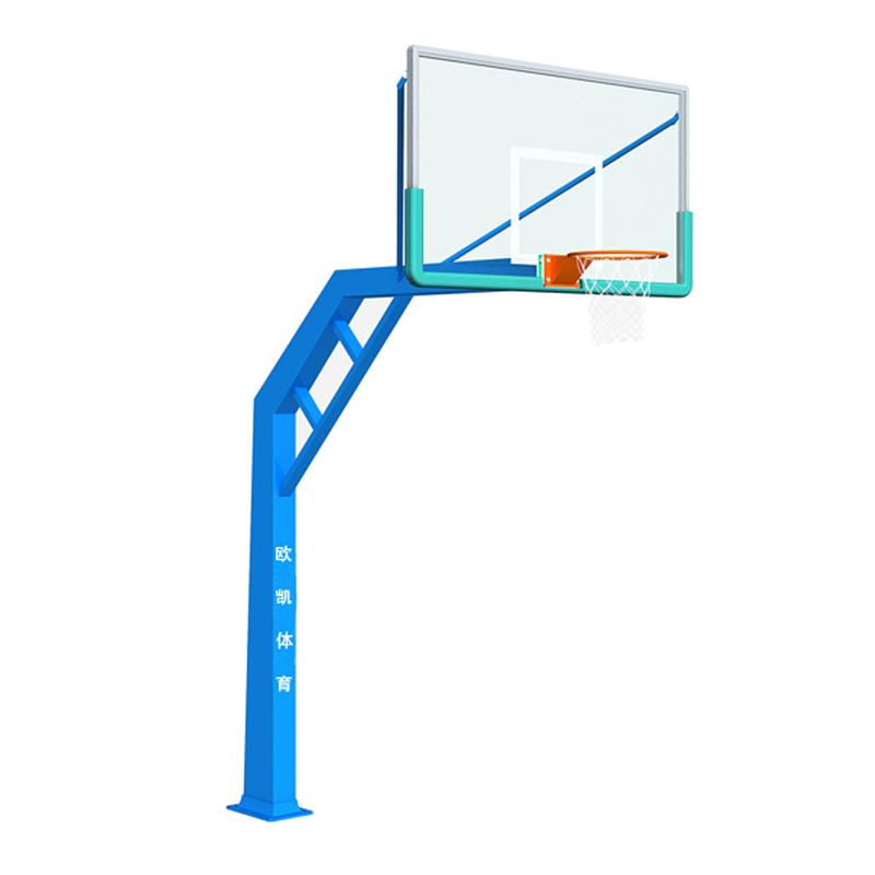 OK-007单臂锥柱篮球架