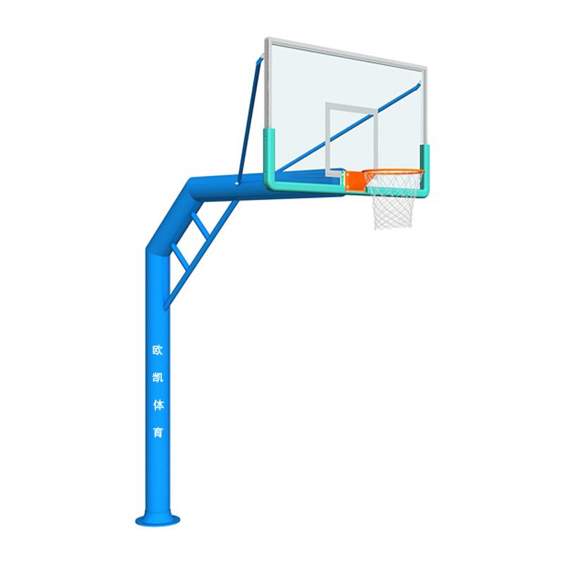 OK-008单臂圆管篮球架