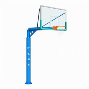 OK-009单臂圆管可拆式篮球架