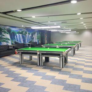 保龄球私人会所——台球休闲区